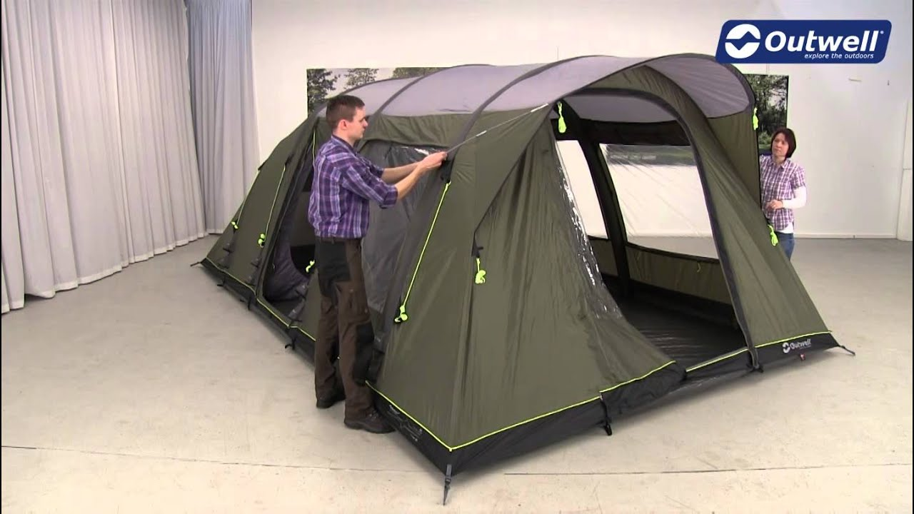 Outwell Clipper XL Tent Pitching Video | Innovative Family C&ing - YouTube : outwell nevada xl tent - memphite.com
