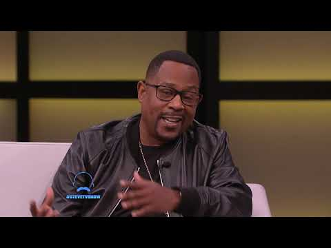 Tone Kapone - Martin talking to Steve Harvey--  Legend Talks