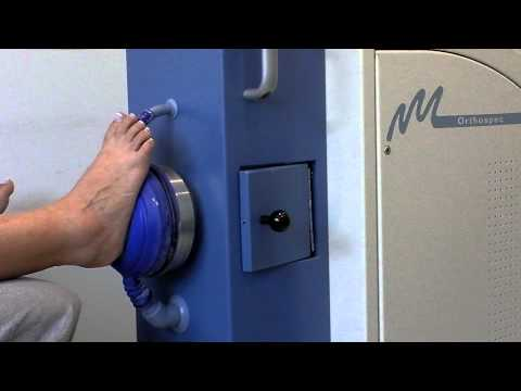 Plantar heel pain treatment using OrthoSpec™ Electrohydraulic device.mp4
