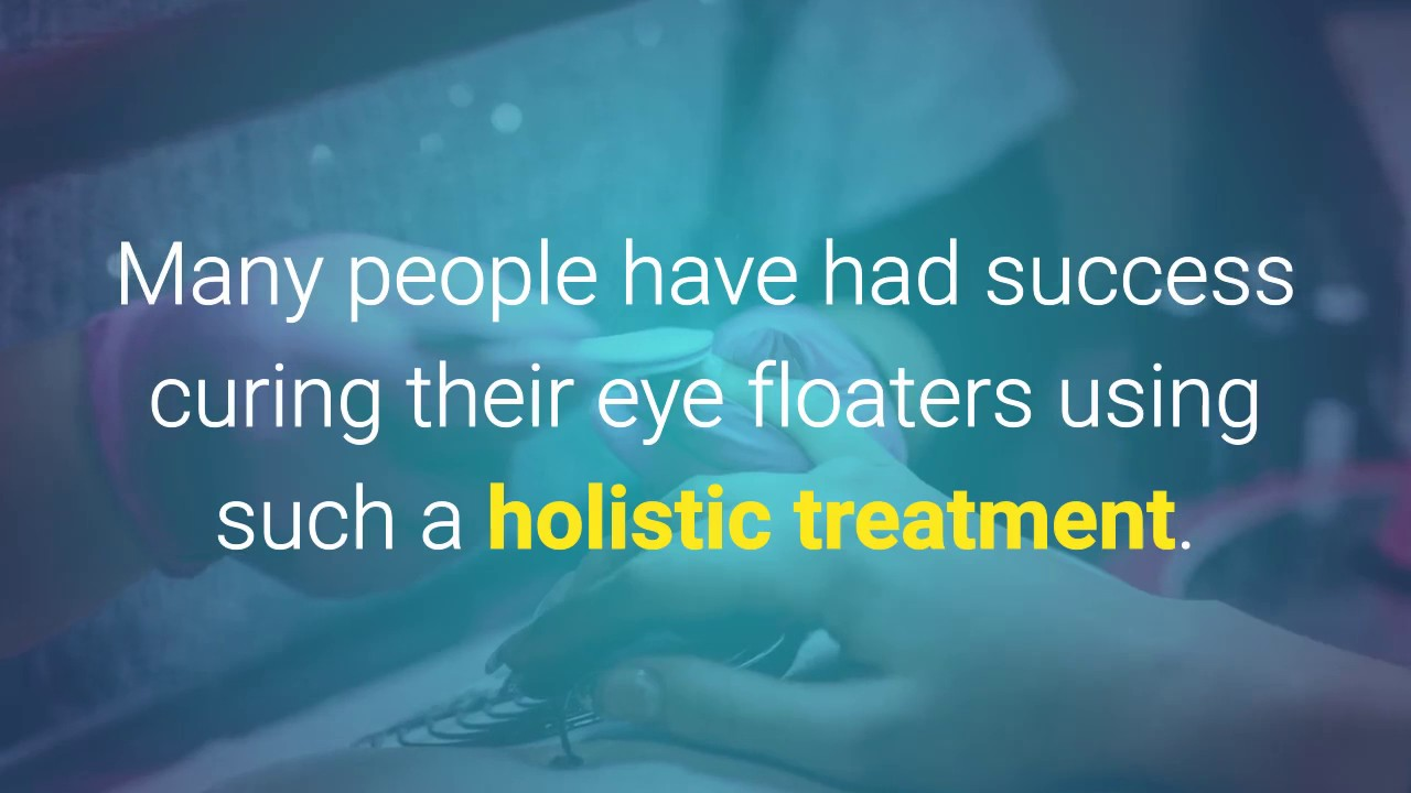 how to get rid of floaters on eyes