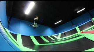Some Fun at Bounce! Trampoline Sports