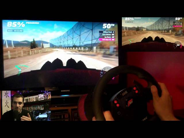 Forza Horizon Rally - Wheel Test