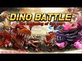 Dino Battle - The beginning of the war Gameplay (Android iOS)