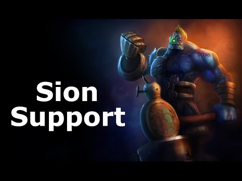 Season 6/Diamond, Sion Support, Full Game Commentary!