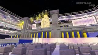 Minecraft Opening Pyro | WWE Wrestlemania 29 (XXIX) | WrestlingHub