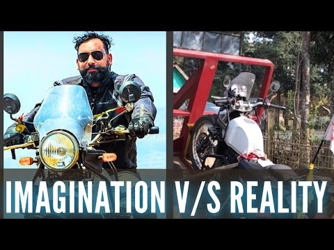 ROYAL ENFIELD HIMALAYAN Imagination v/s Reality 2