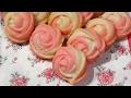 How to make Rose cookies|ローズクッキーの作り方 の動画、YouTube動画。