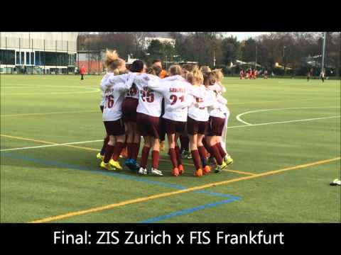 Frankfurt International School - 2015 SCIS Tournament - JV Girls Soccer - Champions