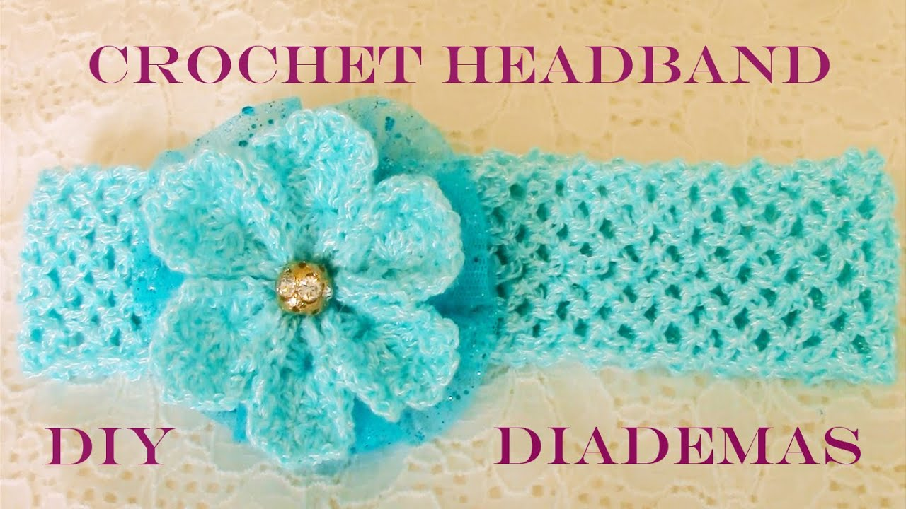 DIY flores y diademas hermosas - flowers and beautiful headbands ...