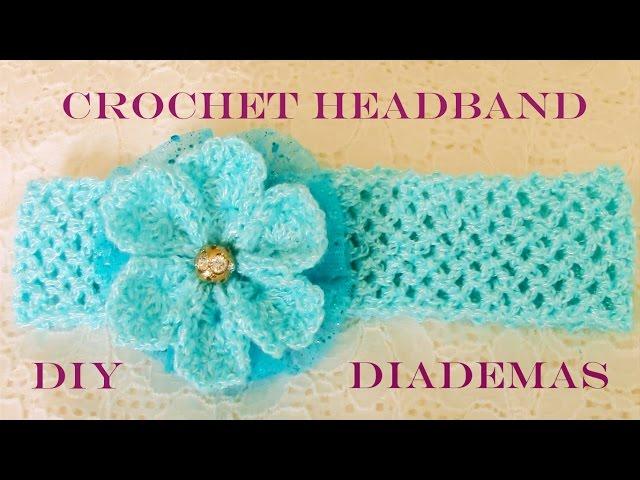Venda Tejida a Crochet paso a paso   Knitting Embroidery Videos and ...