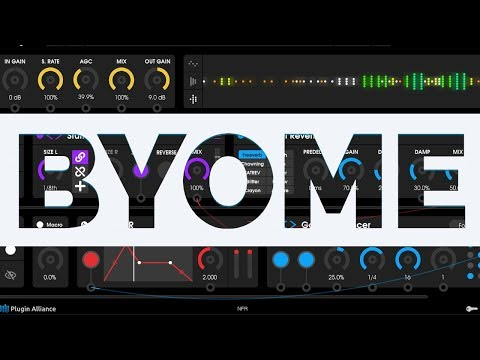 Unfiltered Audio BYOME Plugin Lets You Build Your Own Modular Effect