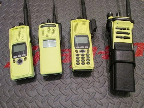 Motorola Yellow-Jackets XTS5000, XTS2500, APX70000 XE Digital Radio Units in Fire Yellow