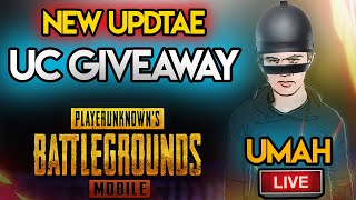 🔴 UC Rooms | PUBG MOBILE NEW UPDATE | PUBG MOBILE LIVE WITH UMAH GAMING | SUBS GamePlay