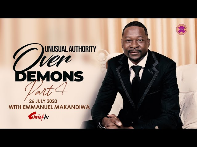 Emmanuel Makandiwa | Unusual Authority Over Demons Part 4 | THE SPIRIT SPEECH