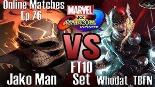 Video Jako Man VS Whodat_TBFN FT10 Set (MVCI Online Matches Ep.76) download MP3, 3GP, MP4, WEBM, AVI, FLV Oktober 2018