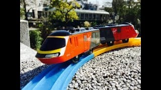 Plarail Virgin Train visit Arakawa Yuen, Tokyo, Japan (04449)