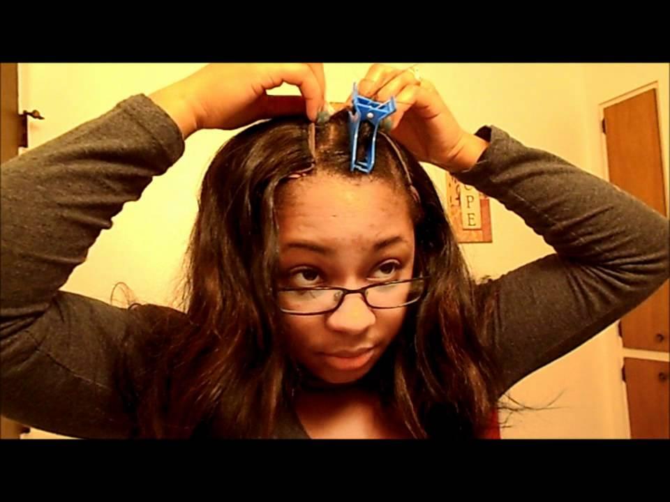 How I Put On My U Part Wig Ft Exotic Hair La U Part Wig