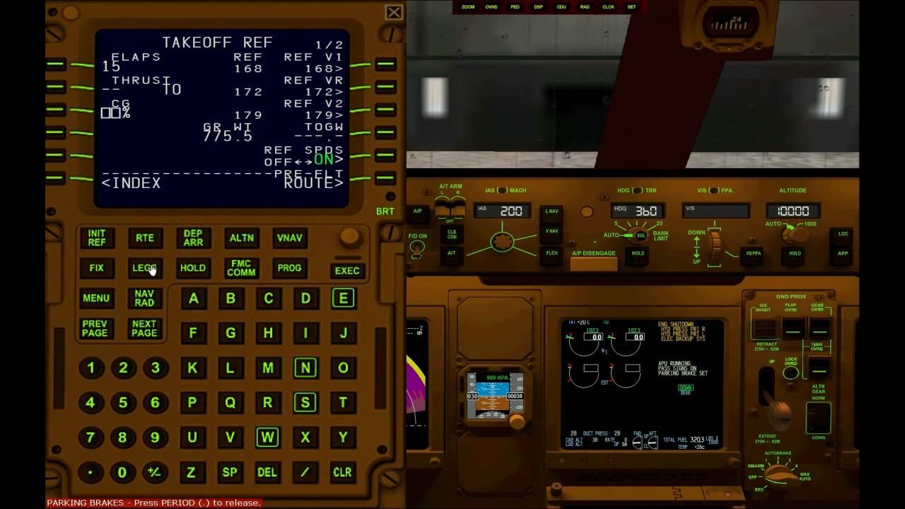 Big Boeing 747 Fmc User Guide