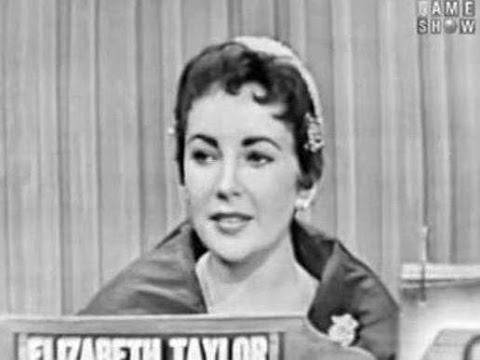 What's My Line?  Elizabeth Taylor Nov 14, 1954