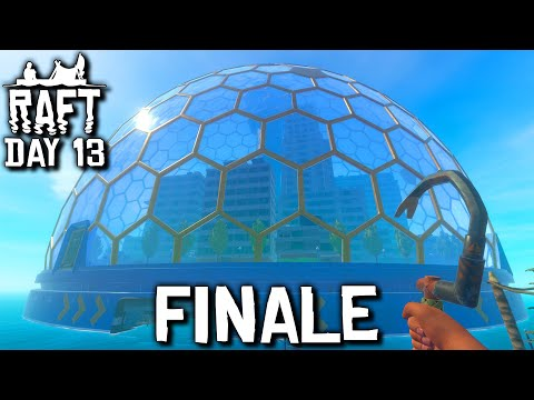 Raft: Chapter 2 - Day 13 - FEATURE LENGTH FINALE! | (Raft 2020 New Update Gameplay)