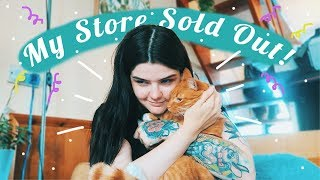 HAPPY TEARS & PROBLEMS 💘 running an online store ~ vlog