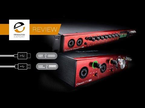 Review - Focusrite Clarett 2Pre & 8Pre USB Audio Interfaces