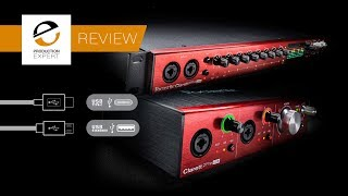 Focusrite Clarett 2Pre & 8Pre USB Audio Interfaces - Expert Review