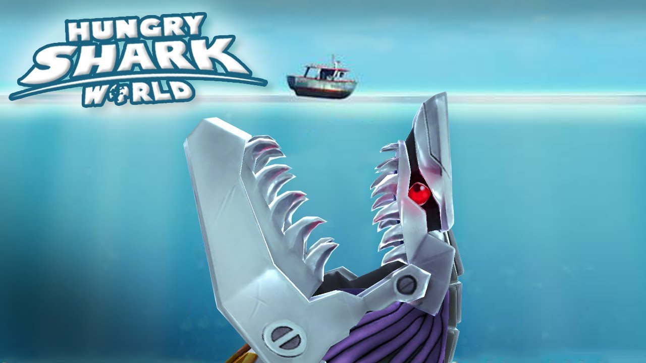 MAXED ROBOT SHARK!!! – Hungry Shark World | Ep 64 HD