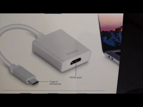 IHome USB-C To HDMI Adapter