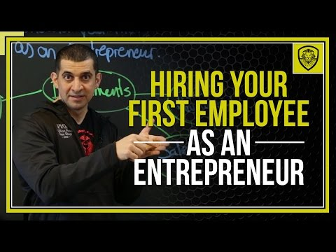Hiring Your First Employee as an Entrepreneur