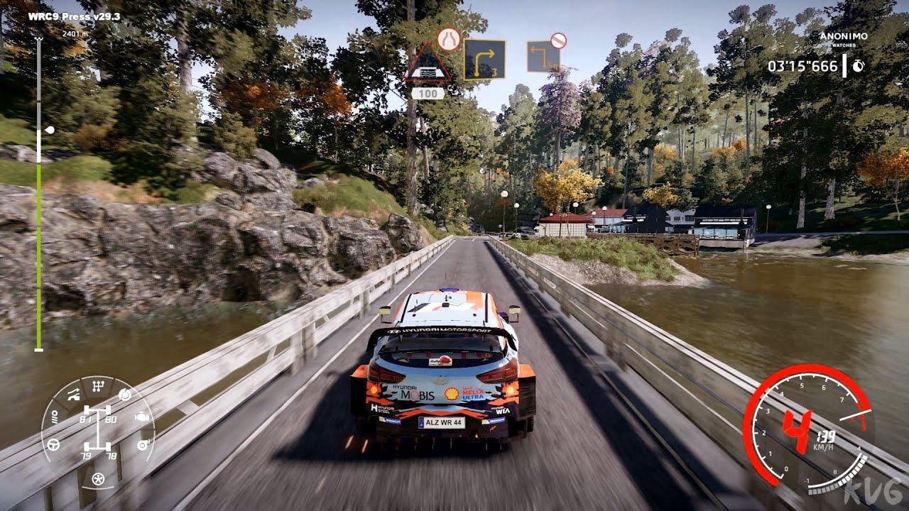 WRC 9 FIA World Rally Championship - Okazaki (Rally Japan) - Gameplay (PC HD) [1080p60FPS]