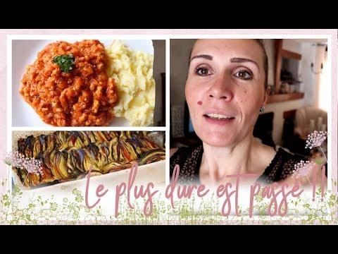Vlog Famille Du 6 Aout :  Bolognaise De Poulet, Tian De Légumes Au Fromage De Chez Nous (maroilles)