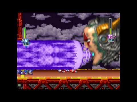 Mega Man X5 - Eurasia City/Broken Highway Perfect Run