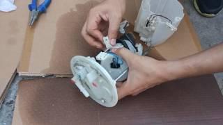 Lancer X 10  ТФ (топливный фильтр) замена на кортах