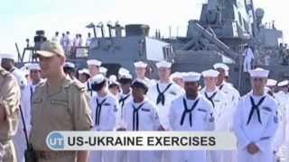 US-Ukraine Naval Exercises: Ukrainian and NATO warships perform Black Sea drills near Odesa
