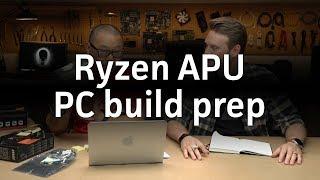 Announcing our Ryzen APU w/ Radeon Vega Graphics PC build!