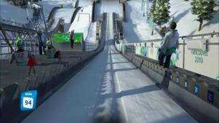 Vancouver 2010 Short Gameplay 151,1m Large Hill Ski Jumping
