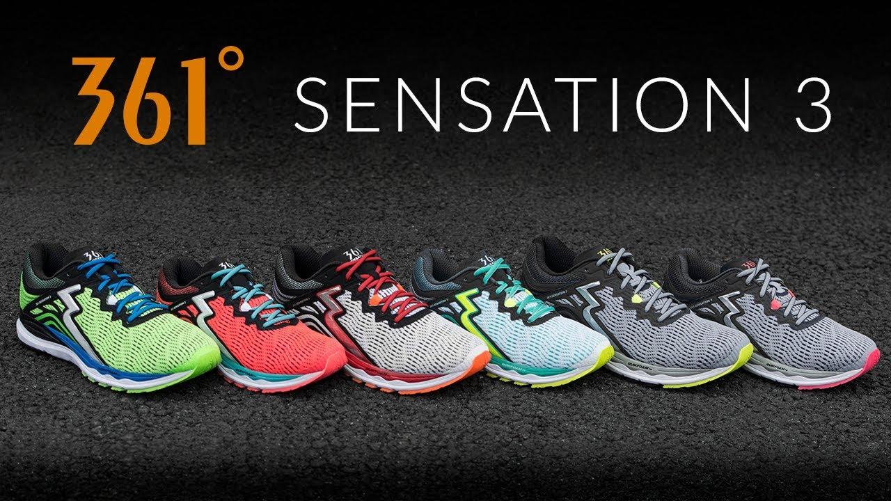 361 Sensation 3 - Running Shoe Overview