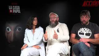 Entrevista Alba Flores, Darko Peric y Hovik Keuchkerian nos hablan de La casa de papel