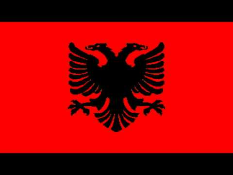 Bandera Civil del Reino de Albania (1928-34) - Civil flag of the Kingdom of Albania (1928-34)