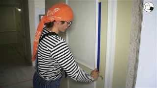 видео Покраска стен и потолков: технология нанесения краски