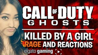 "COD Ghosts Killed By a Girl Reactions ""She"