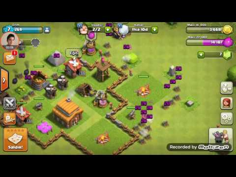 Erim video ile clash of clans