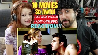 10 MOVIES SO AWFUL They Were Pulled From Cinemas - REACTION & ANALYSIS!!!
