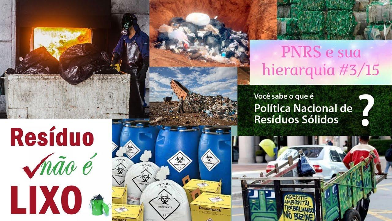 PNRS e hierarquia dos resíduos - Série Compostagem do Zero - #3/15