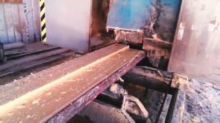 видео Качественная обрезная доска из лиственницы