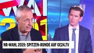 Peter Pilz bei oe24.at Elefantenrunde