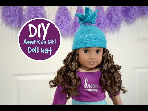 DIY American Girl Doll Hat