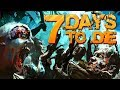 Let's Play 7 Days To Die! Zombie Ambush!