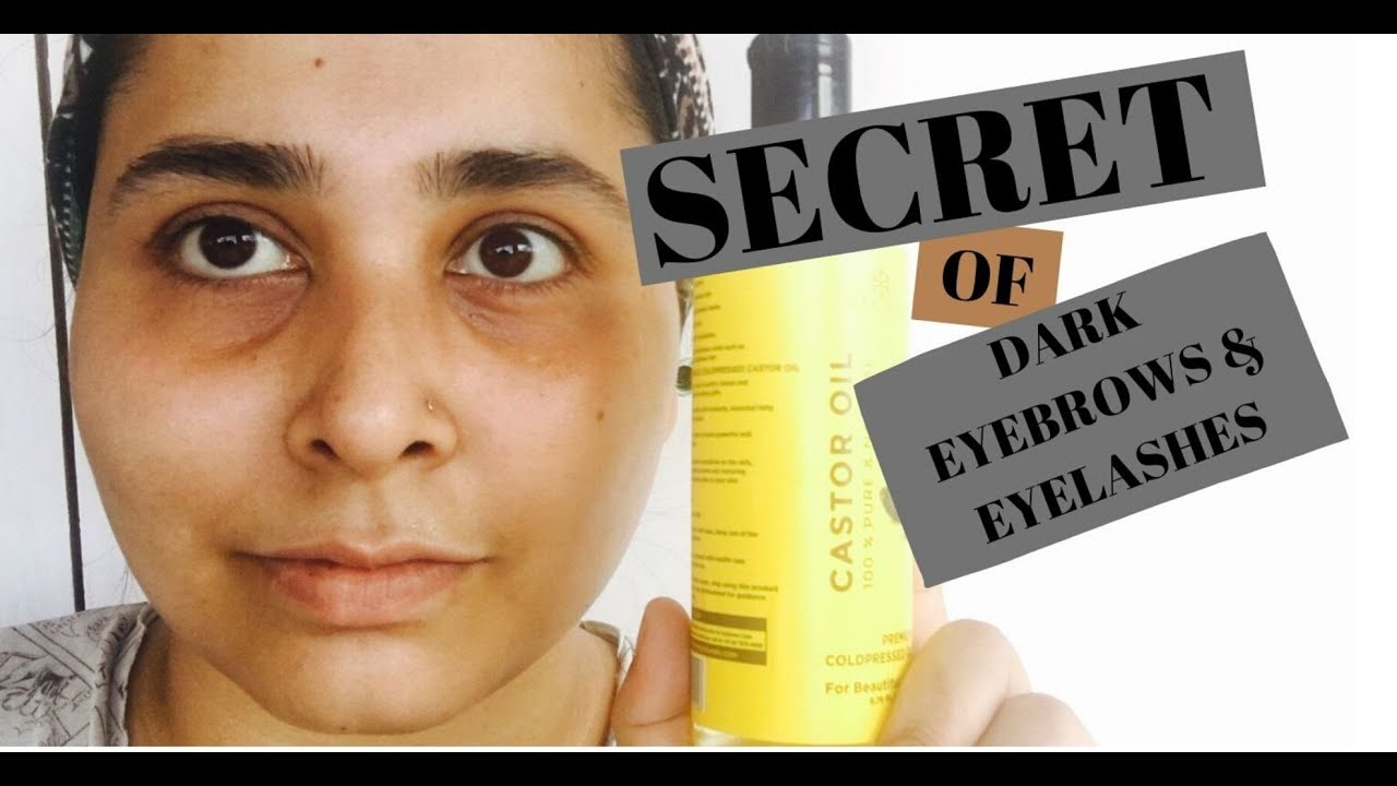 HOW TO GROW YOUR EYEBROWS/ EYELASHES NATURALLY || Growth ...